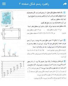 راهبرد رسم شکل صفحه 2 ریاضی هفتم